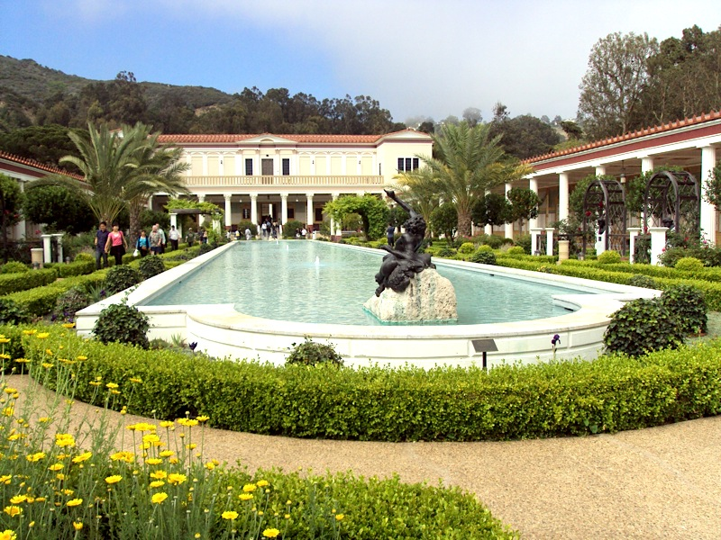 My First Visit to the Getty Villa