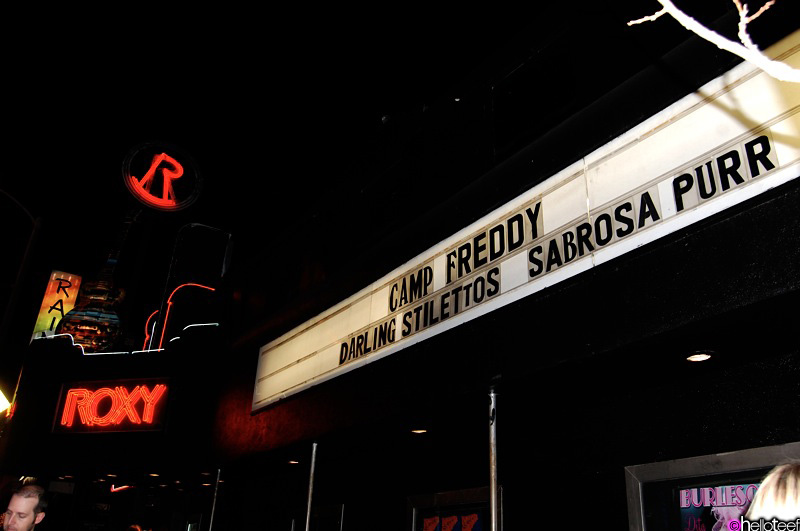 Camp Freddy @ the Roxy