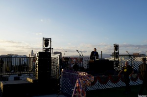 Dan Automator LA Rooftop